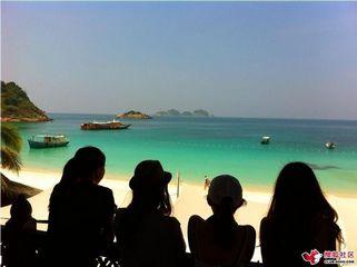夏日热浪岛游记